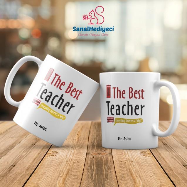 İngilizce Öğretmeni Kupa Bardak